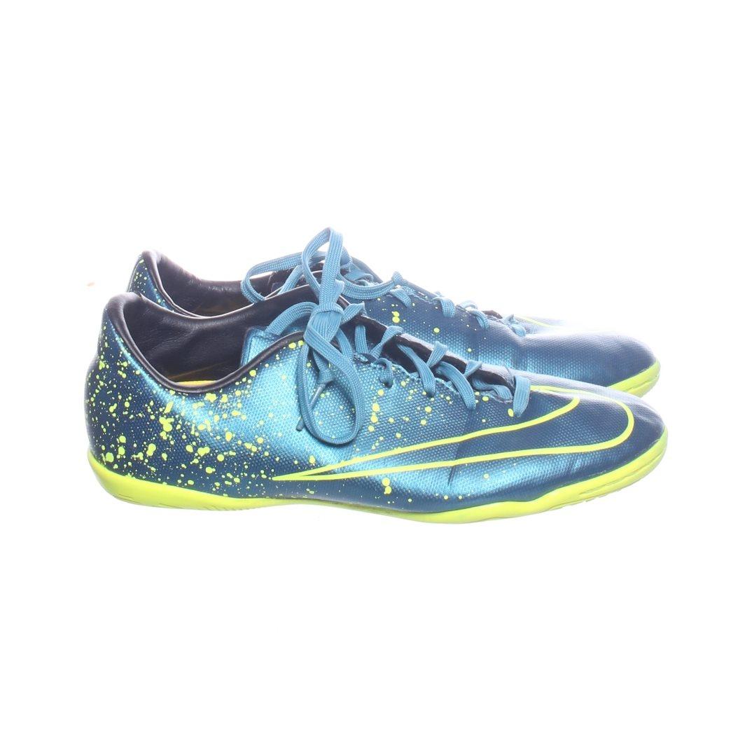 size 40 15018 5e5a0 Nike, Fotbollsskor, Strl  37, Blå Grön