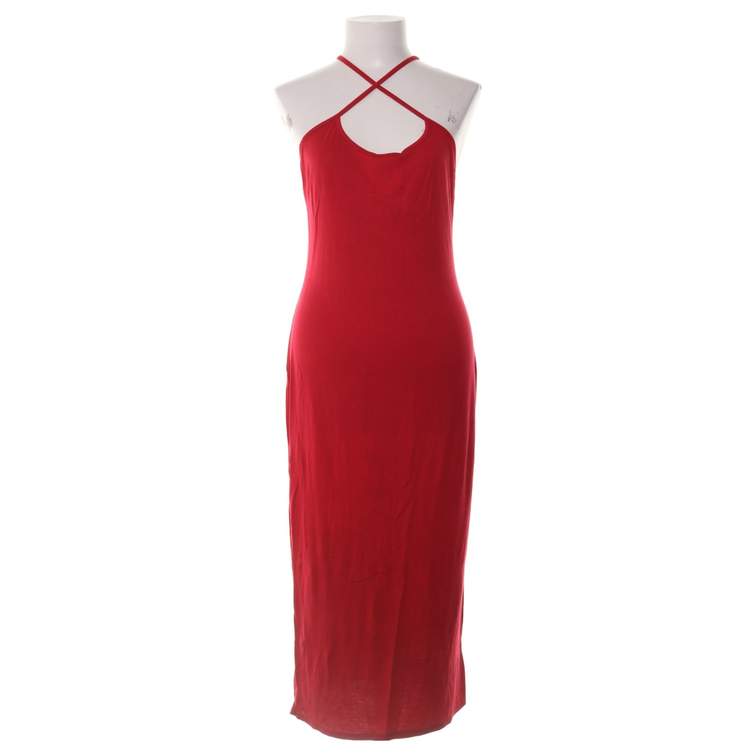 7fdb21bd0acd Nelly Trend, Långklänning, Strl: M, Röd, .. (349077013) ᐈ Sellpy på ...
