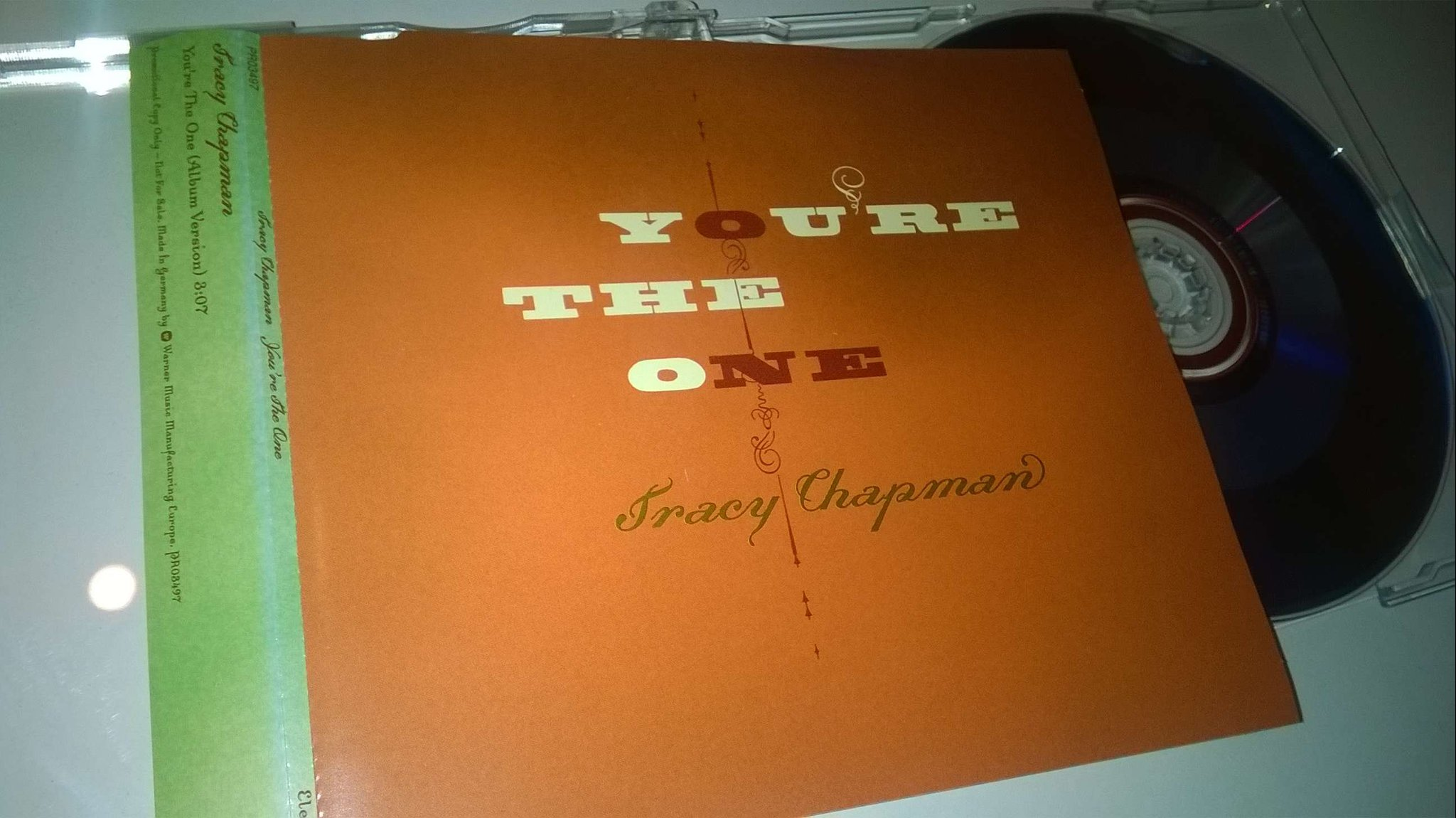 Tracy Chapman - You're The One, CD, Single, Promo