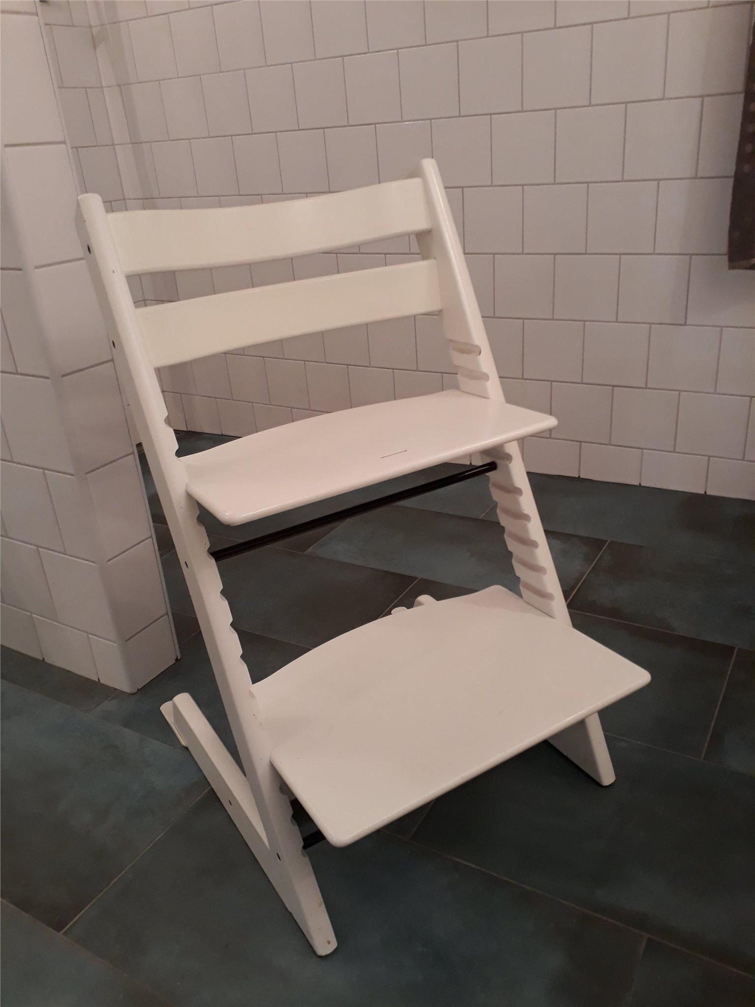 vit tripp trapp stol (309826617) ᐈ köp på tradera
