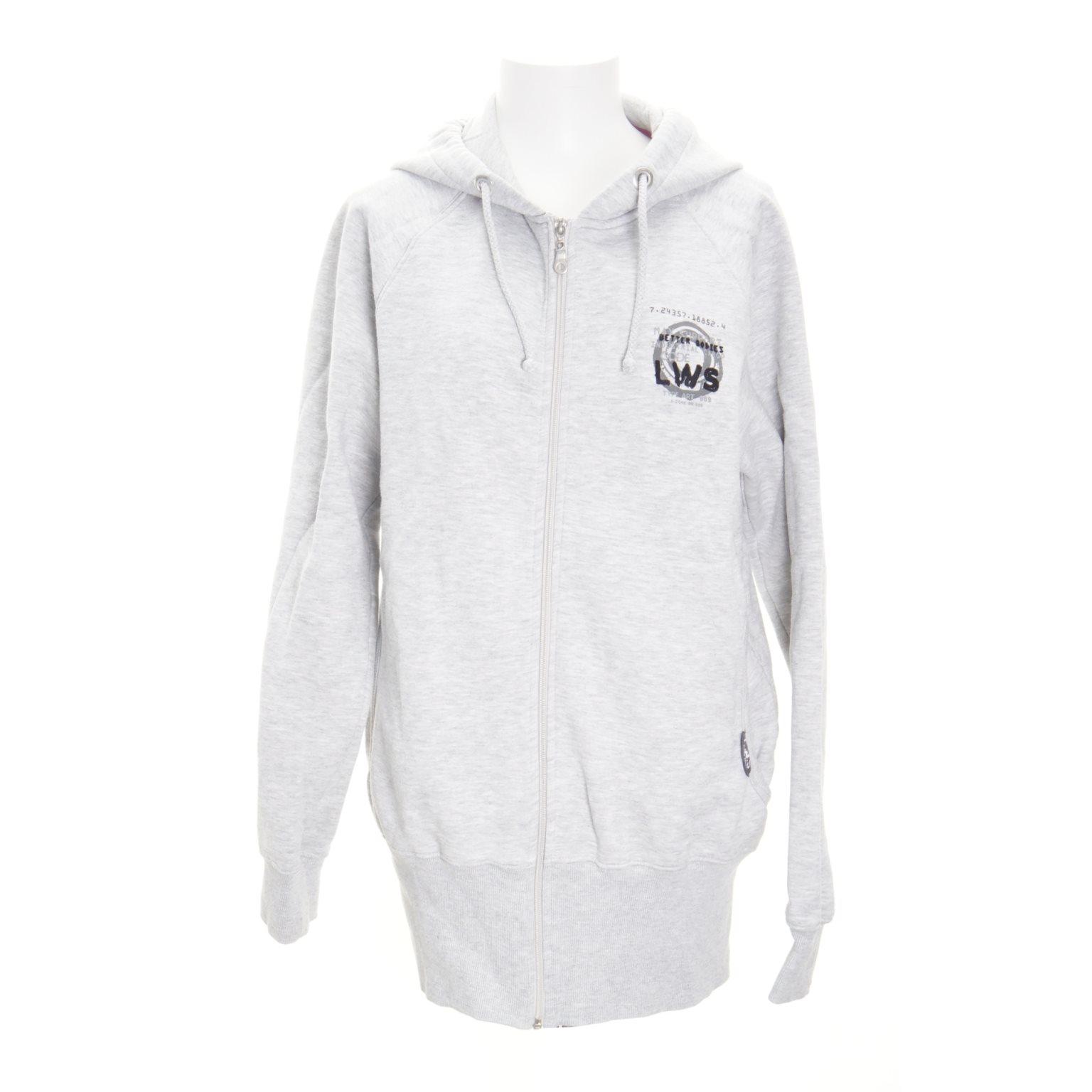 better bodies hoodie grå