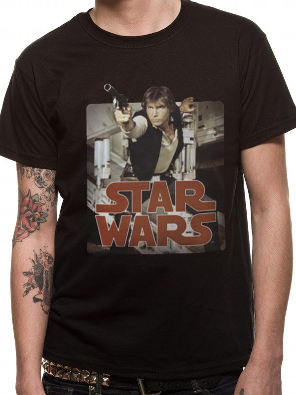 STAR WARS - HAN RETRO BADGE (UNISEX) - Large