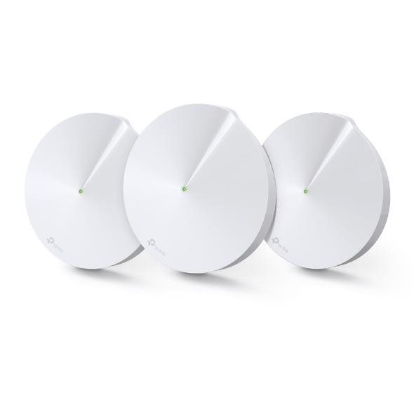 TP-Link Deco M9 Plus (3-pack) AC2200 Smart-Home Mesh Wi-Fi System, Qualcomm
