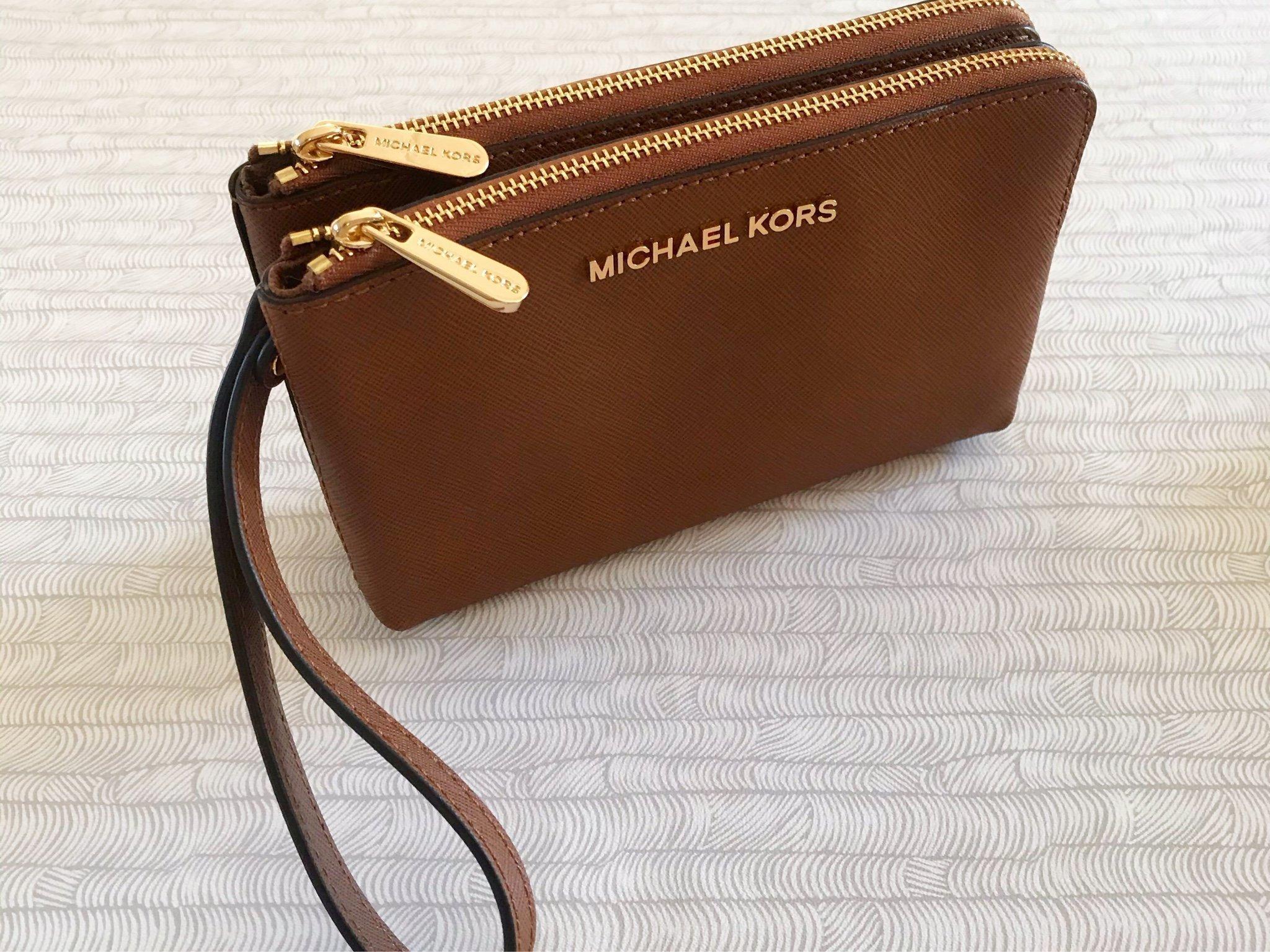 Helt ny Michael Kors väska i brunt skinn (410209382) ᐈ Köp