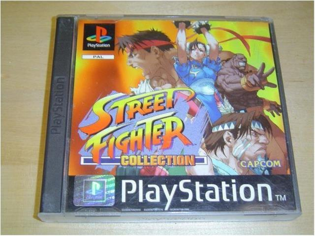 Street Fighter Collection Sony Playstation PAL *NYTT*