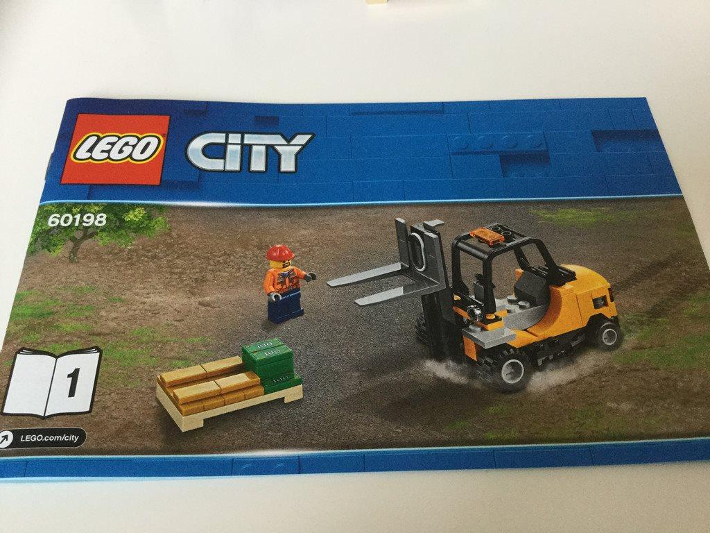 LEGO City Tåg Fordon från från från set 60198, nya, 2 st fordon 0dd162