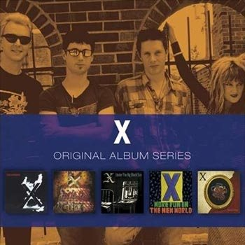 X: Orginal album series 1980-85 (5 CD)