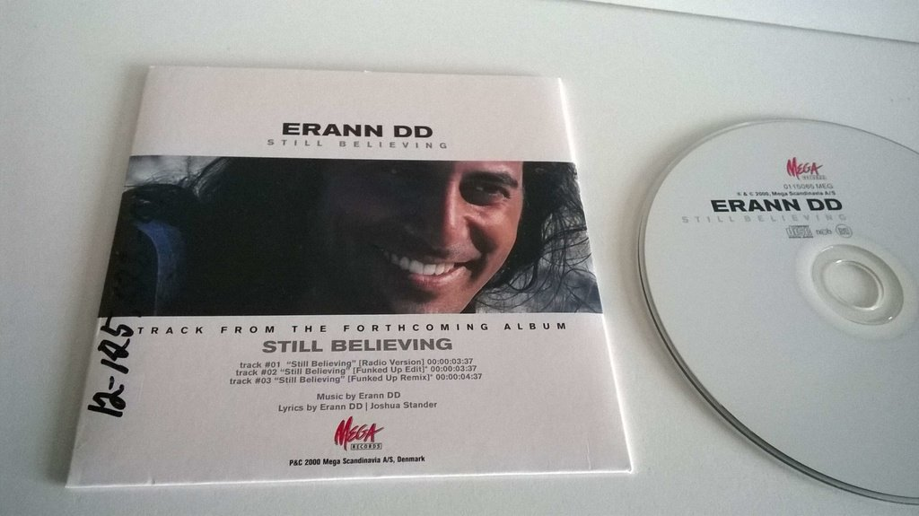 Erann DD - Still Believing, single CD