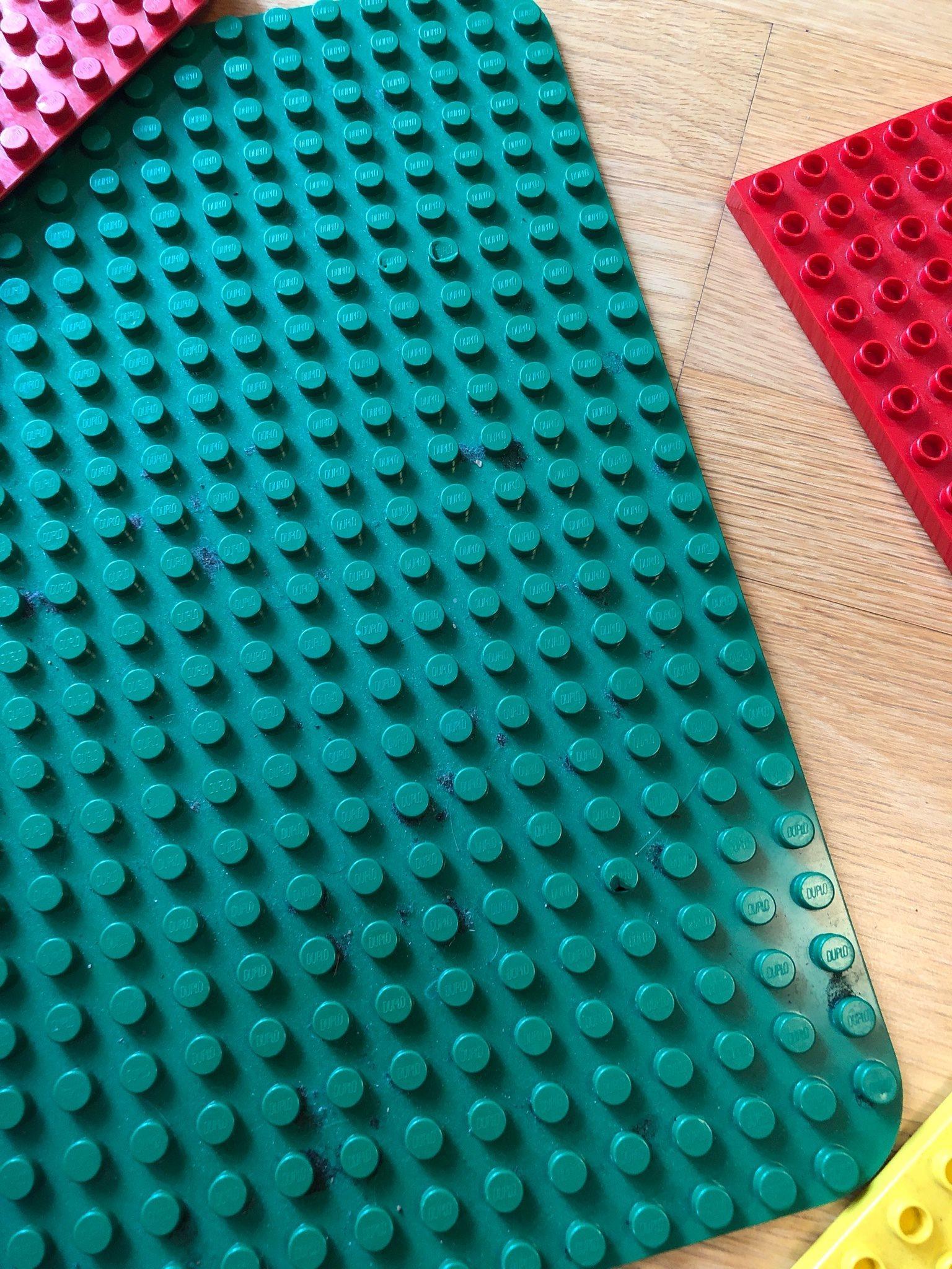 Lego Lego Lego duplo plattor bygga 4 plattor legoplattor 2 stora 2 mindre 39bd61