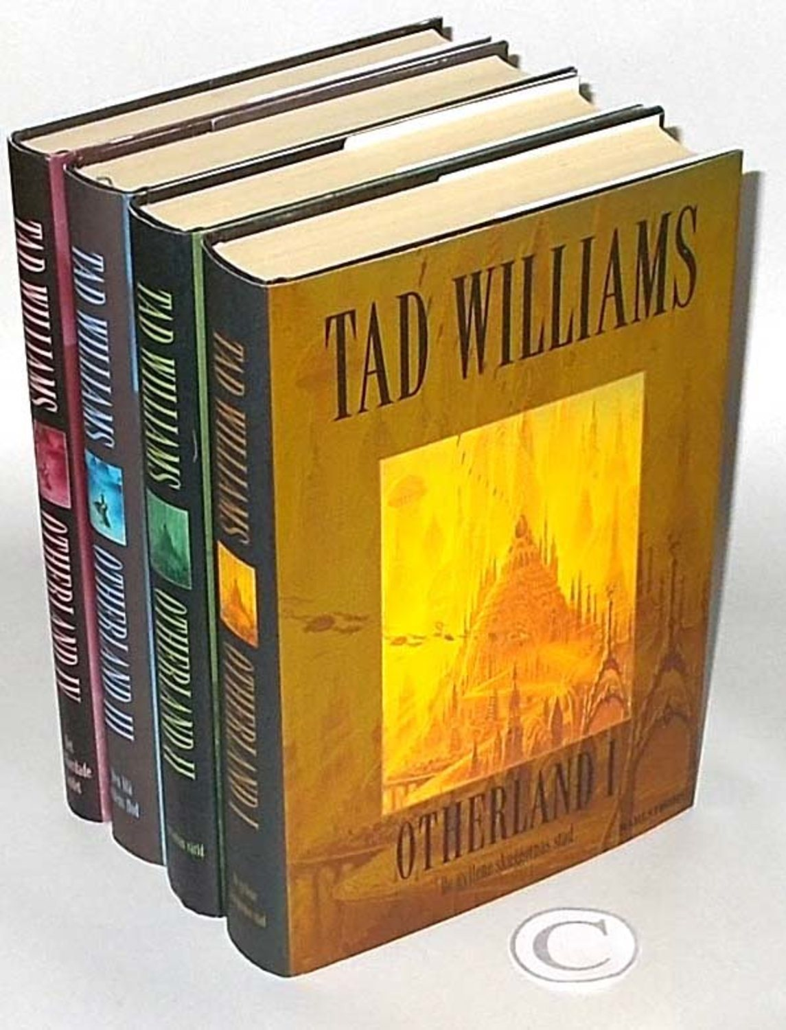 Tad Williams : 4 Böcker: Otherland. Del 1-2-3-4 De gyllene