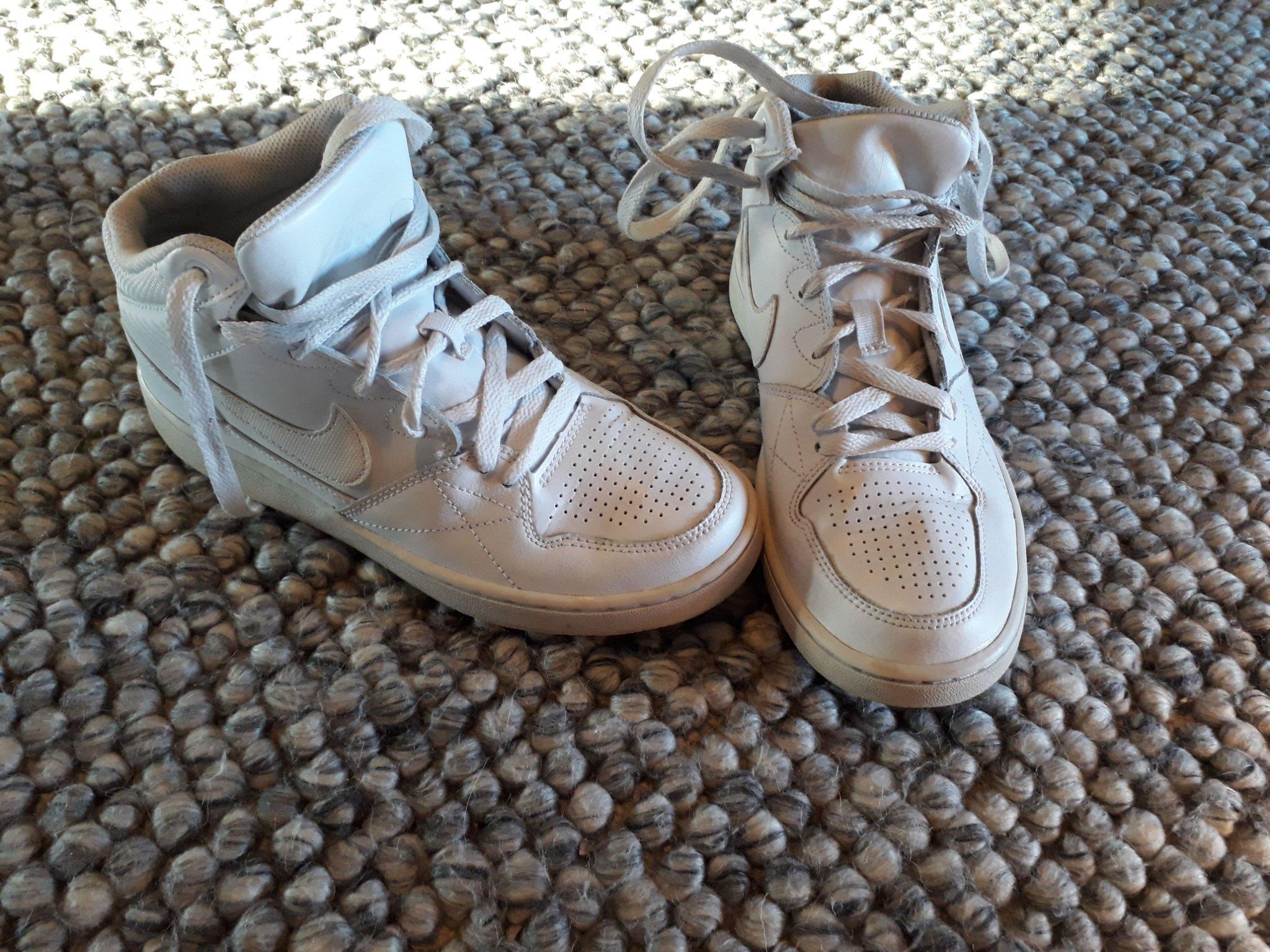 Fina! Nike skor stl:38 (24cm) vita sneakers
