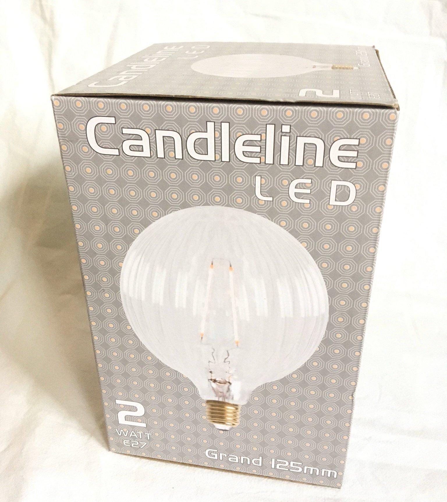 stor dekorations LED lampa klot glob filament d.. (391881643