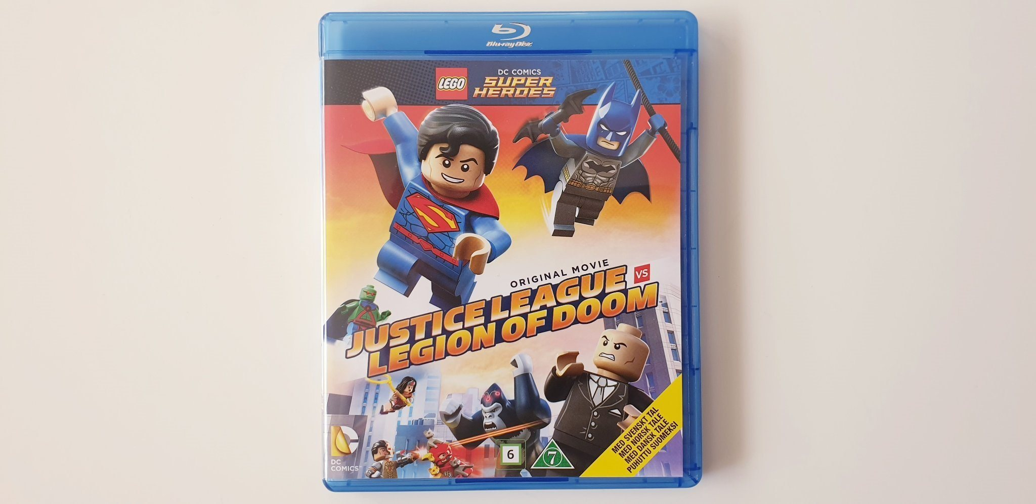 LEGO DC COMICS SUPERHEROES ORIGINAL MOVIE JUSTICE LEAGUE VS LEGION OF DOOM