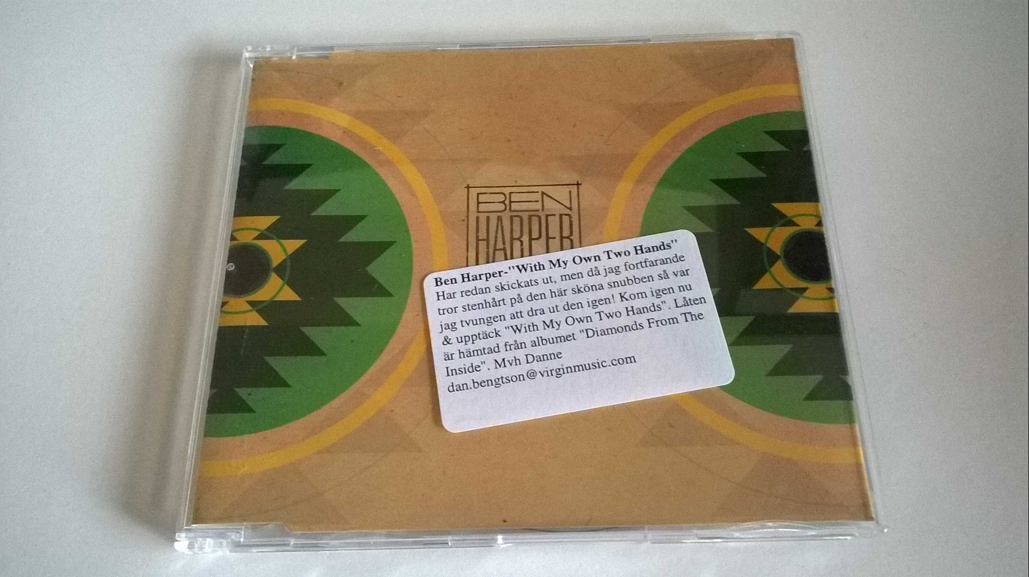 Ben Harper - With My Own Two Hands, CD