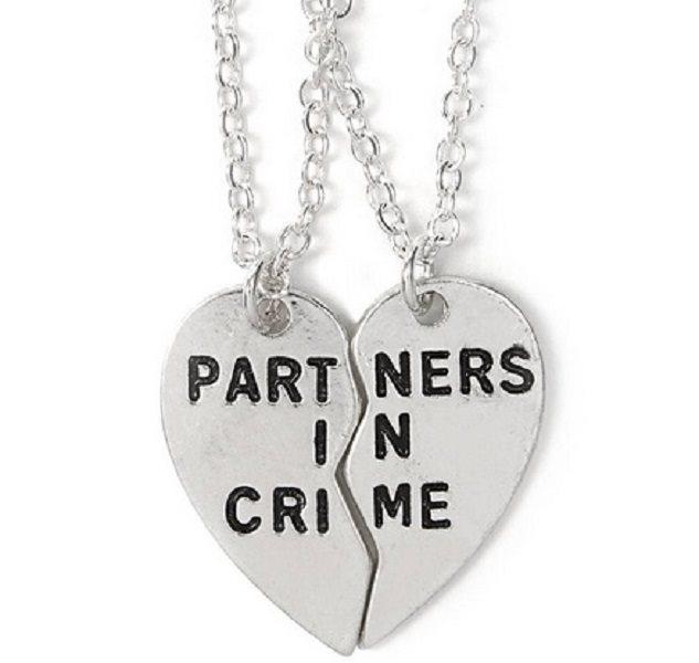 Partners In Crime - Halsband med 2 kedj.. (251729378) ᐈ Skalfynd på ... dd92945238918