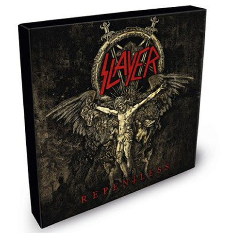 Slayer -Repentless box [6×6.66?] S/S black vinyl Thrash meta