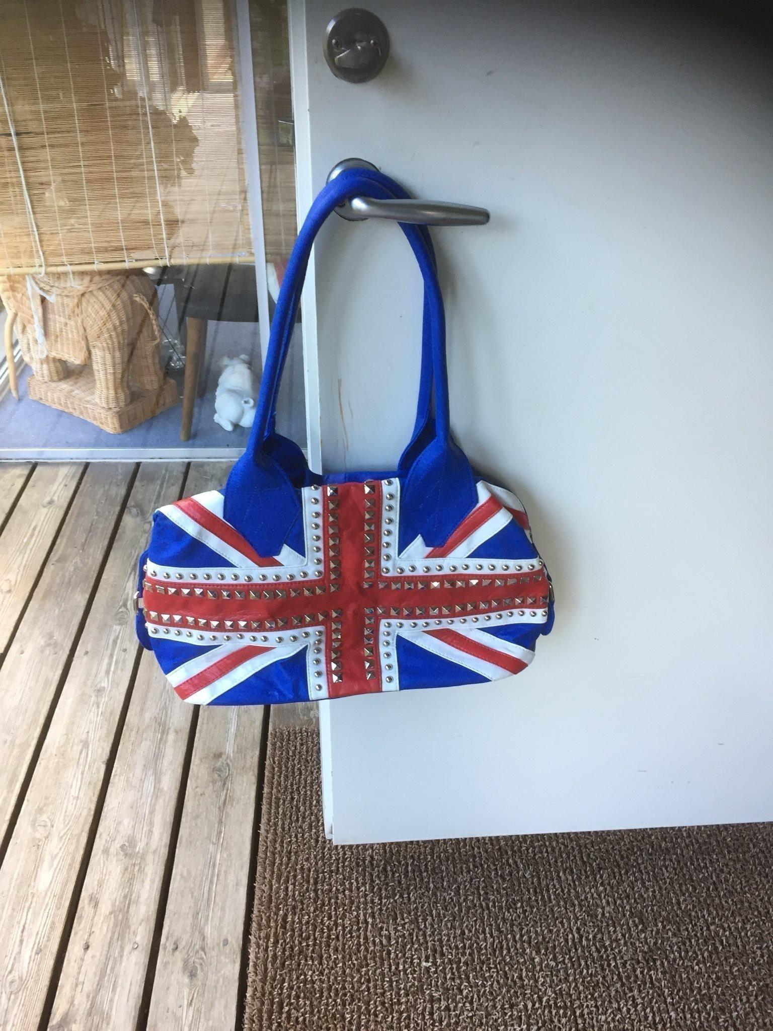 Väska som engelska flaggan till tjejen nyskick (360359020