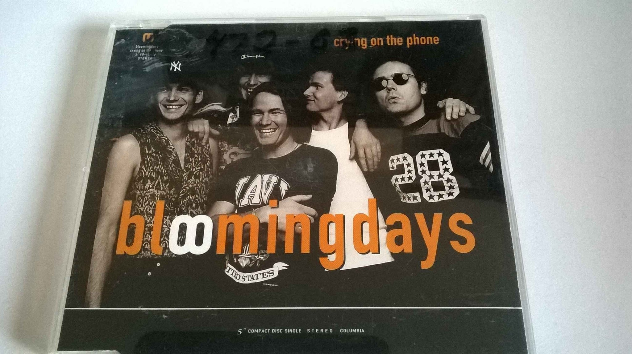 Bloomingdays - Crying On The Phone, CD