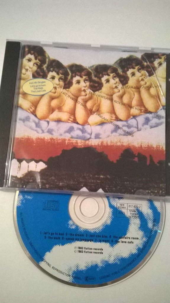 The Cure - Japanese Whispers, CD