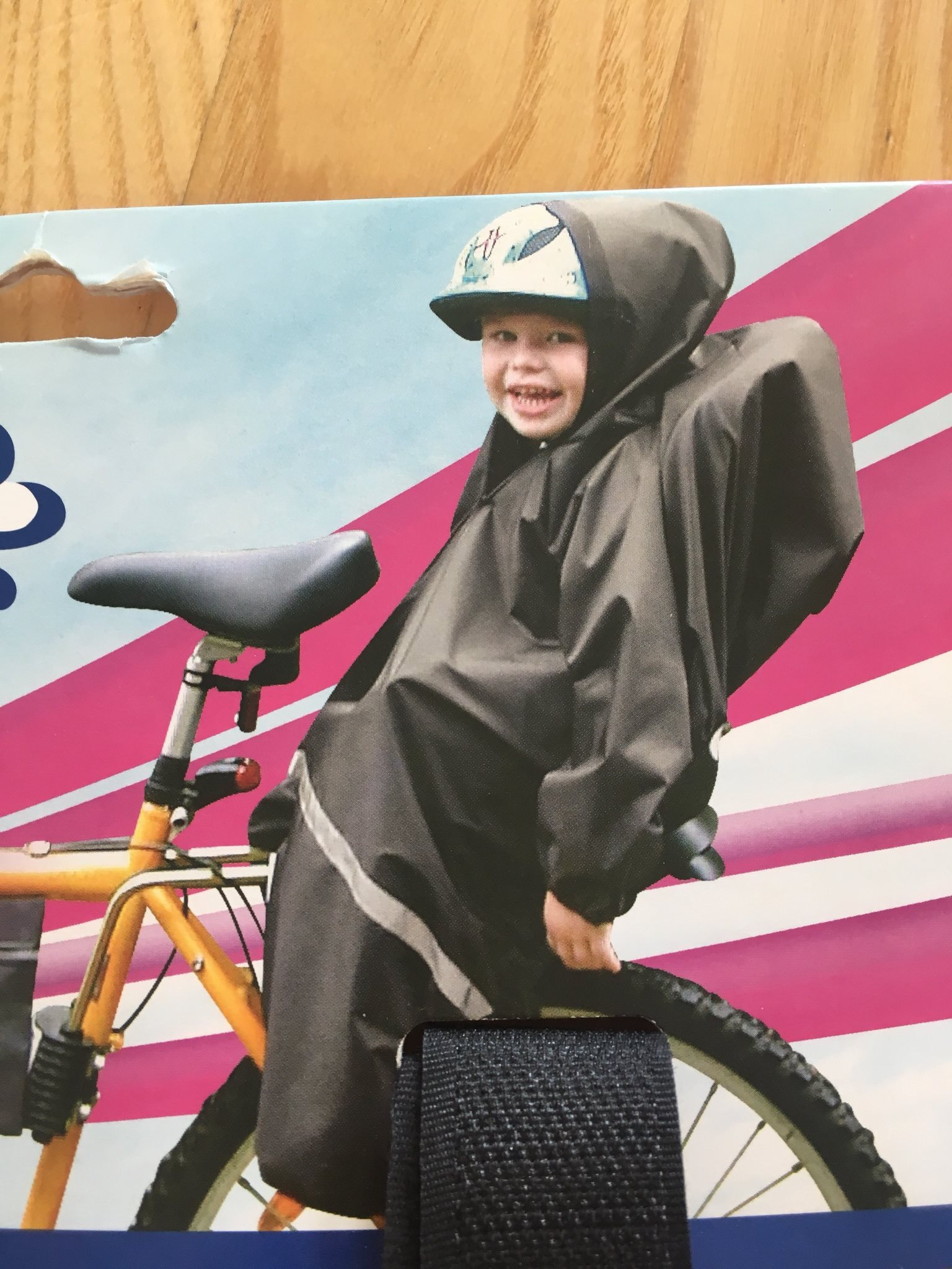 Cykelsits for barn aterkallas