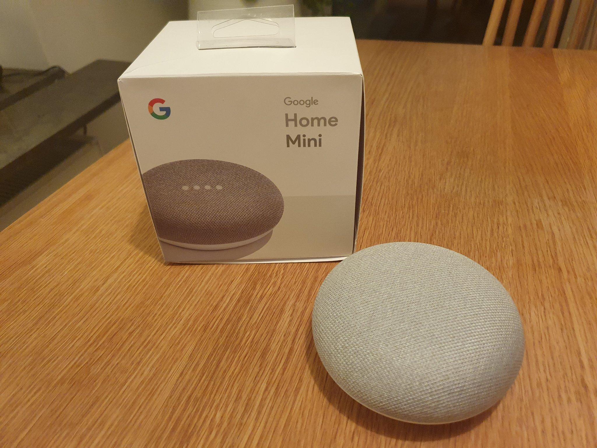 Google Home Mini Vitgrå