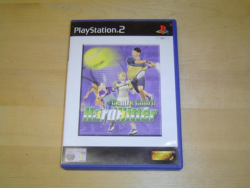 Centre Court HardHitter Sony Playstation 2 PS2 *NYTT*