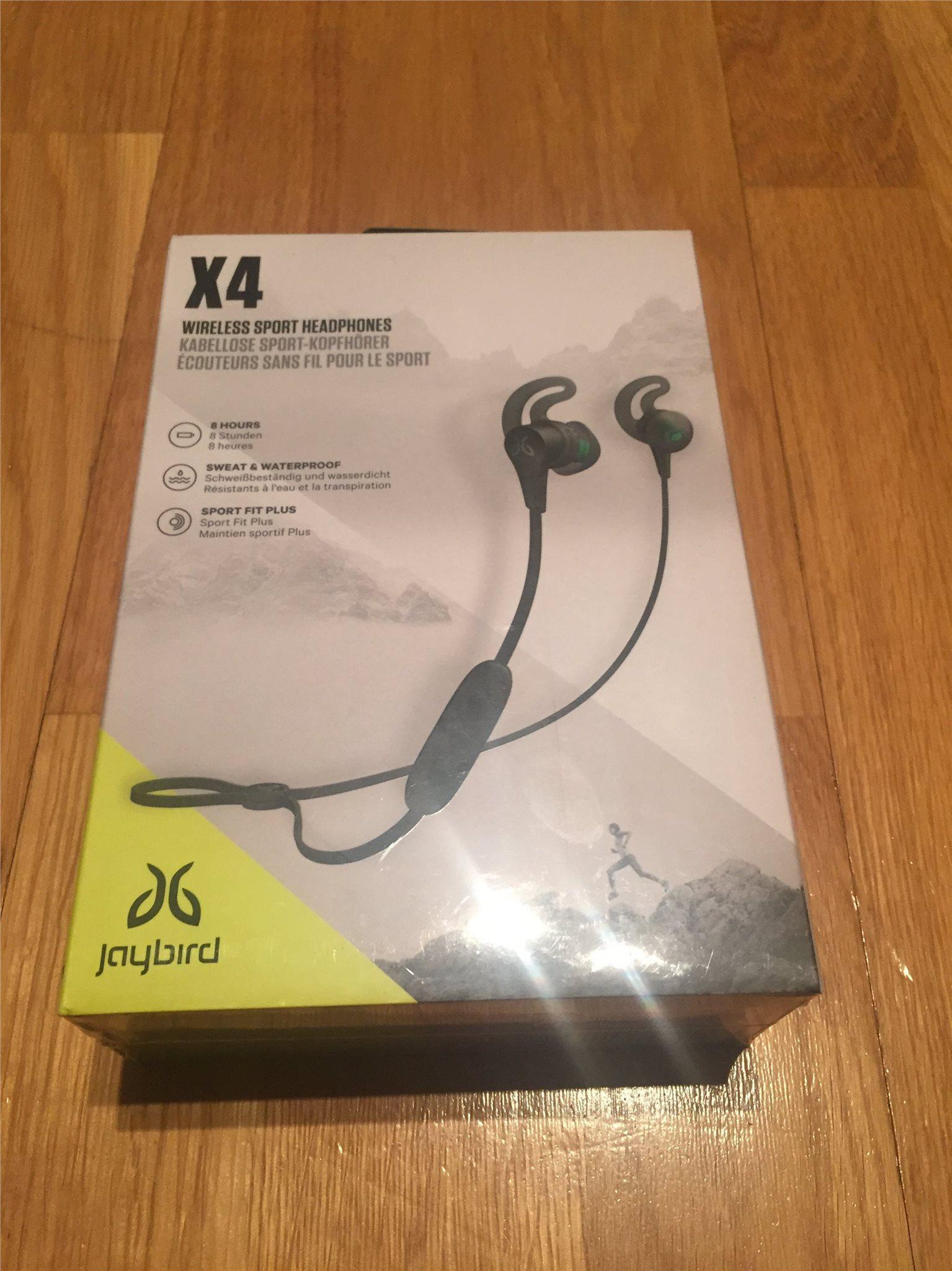 Jaybird X4 (trådlösa hörlurar) (329887853) ᐈ Köp på Tradera ef584a9ef976c
