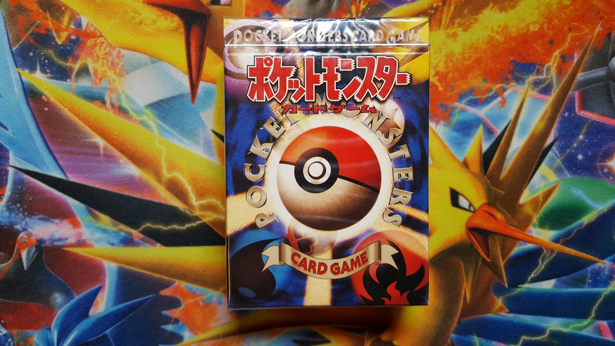 Pokemon Japansk Base set Starter Deck