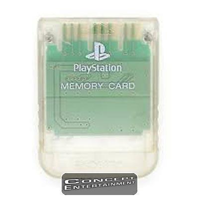 MINNESKORT ORIGINAL TRANSPARENT till Sony Playstation PS1