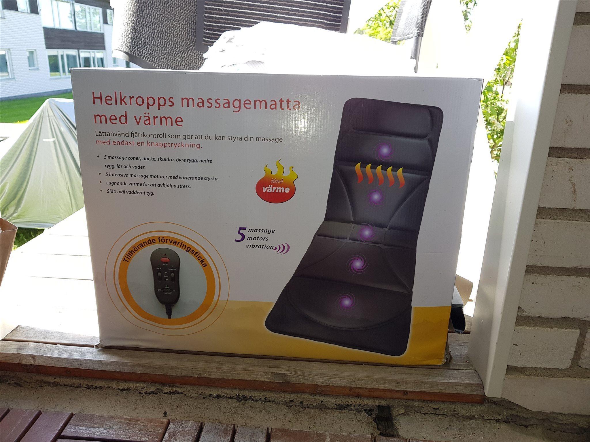 massagematta med värme