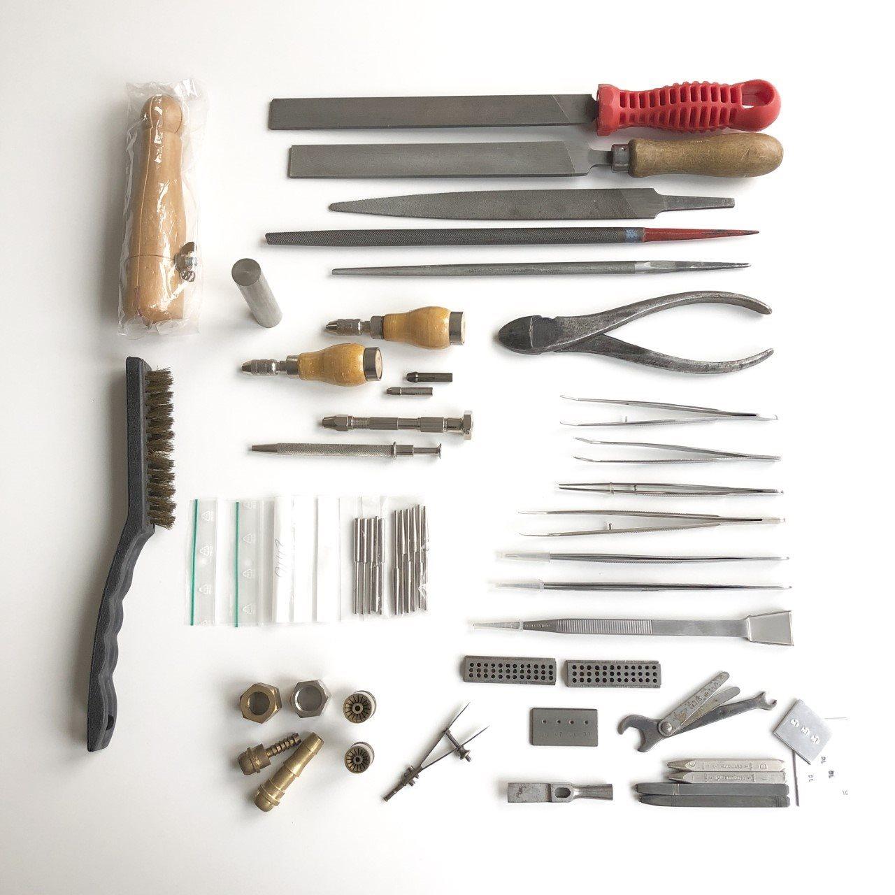 verktyg till silversmide