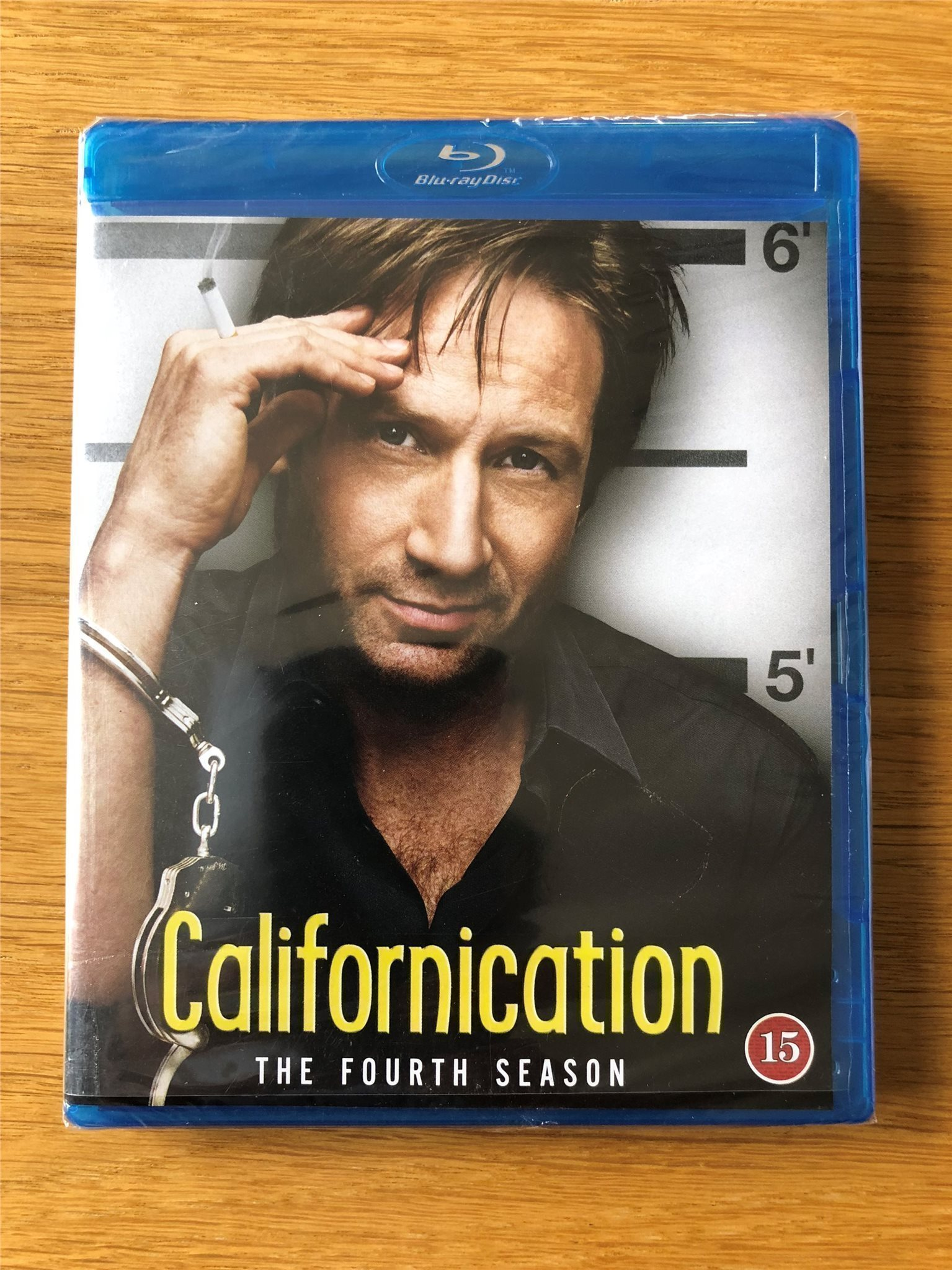 Californication - säsong 4. NY/inplastad! (Blu-ray box)