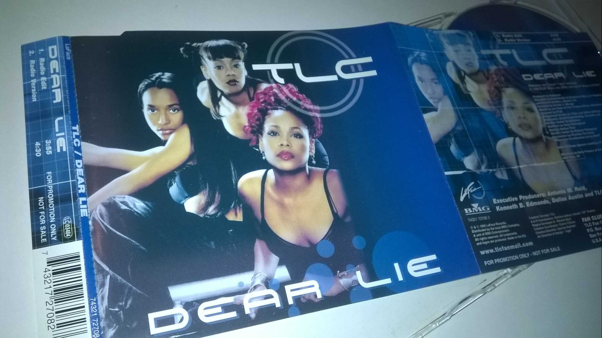 TLC - Dear Lie, CD, Single, Promo