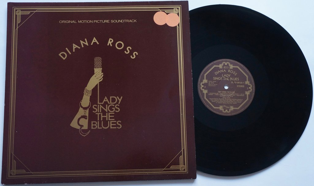** Diana Ross ?– Lady Sings The Blues (Original Motion Picture Soundtrack) **
