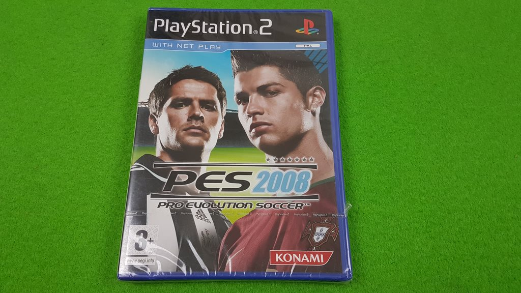 PES 2008 NYTT INPLASTAT Playstation 2 ps2