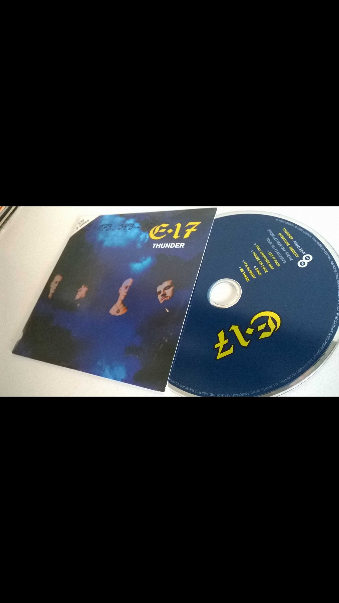 E17 - Thunder, single CD