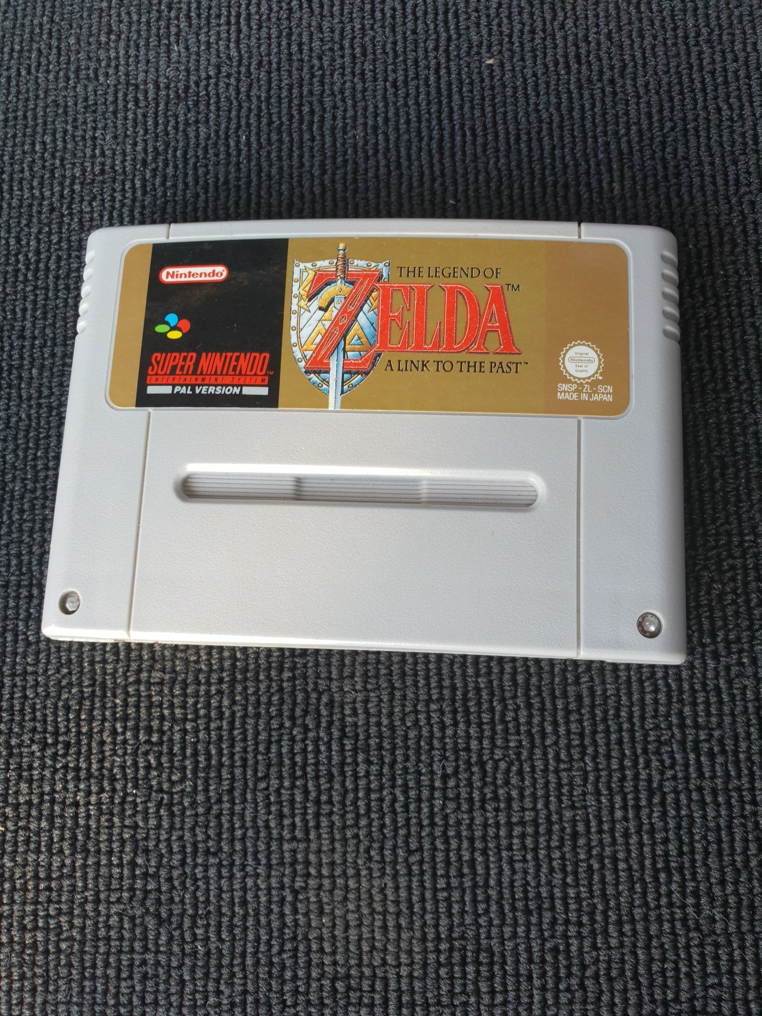 The Legend Of Zelda: A Link To The Past - Super Nintendo Snes