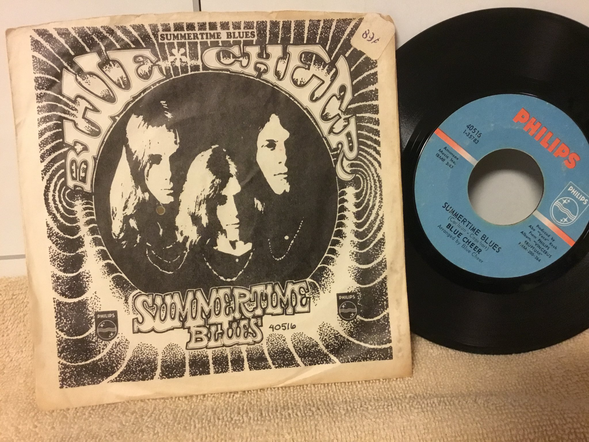 Blue Cheer ,,Summertime Blues / Out of focus ))) us single