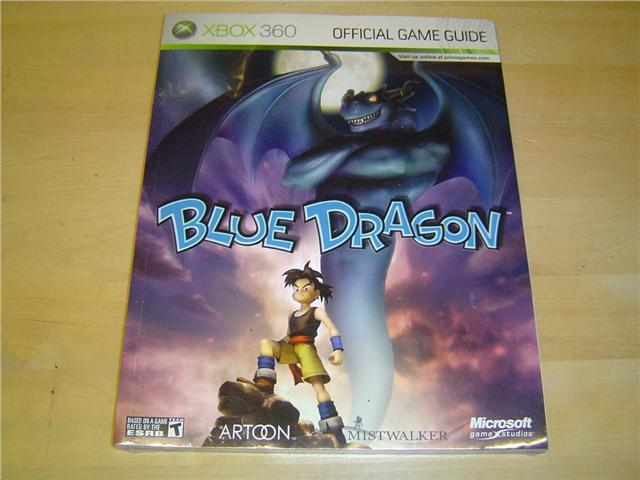 BLUE DRAGON GUIDE WALKTHROUGH XBOX 360 *NYTT*