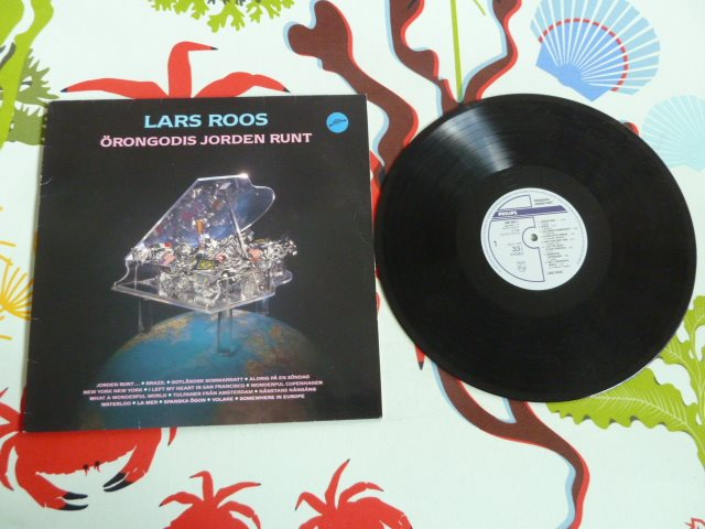 LARS ROOS, ÖRONGODIS JORDEN RUNT, WHAT A WONDERFUL LA MER, WORLD, LP, LP-SKIVA