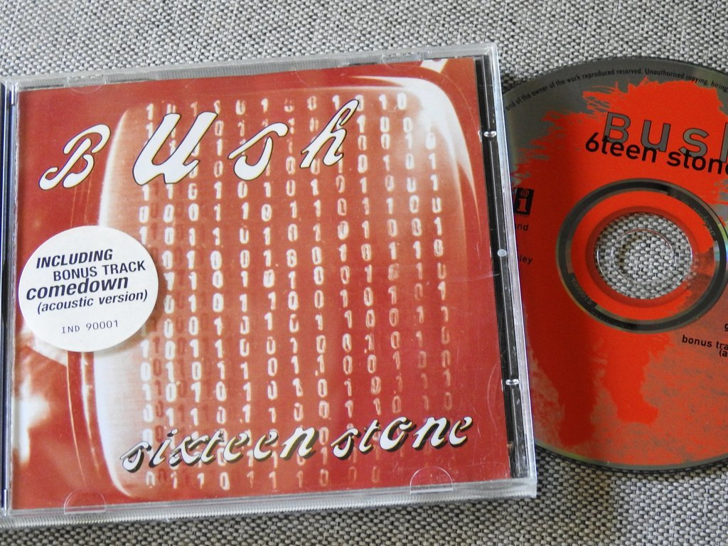 Bush - Sixteen Stone CD (324414398) ᐈ Köp på Tradera
