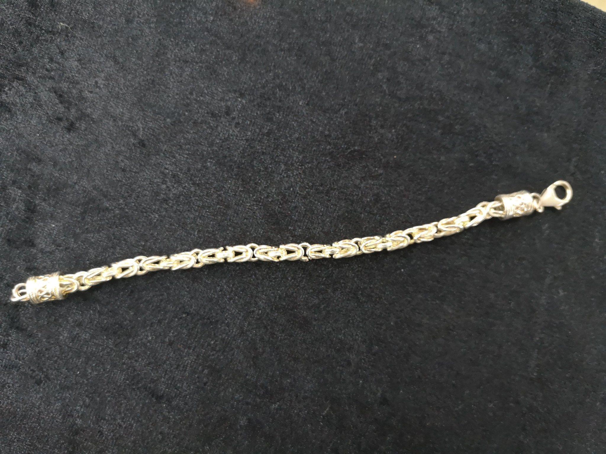 kejsarlänk silver Armband 925 (340784389) ᐈ Köp på Tradera f8a79d9d10b30