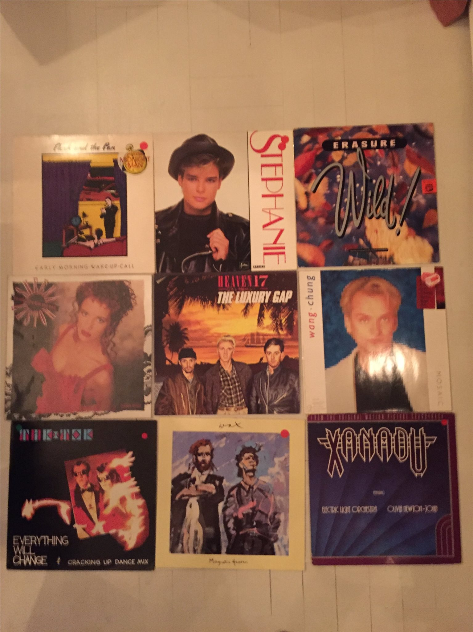SYNTH, NEW WAVE & DISCO - Samling ca: 175 st.