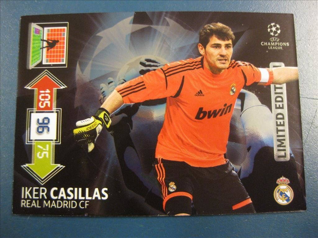LIMITED EDITION  - IKER CASILLAS - UPDATE - REAL MADRID - C L 2012-2013