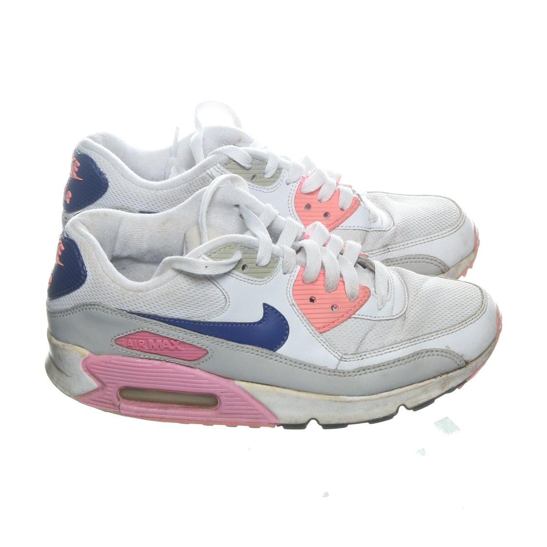 big sale 835da 3d71c Nike, Sneakers, Strl  38,5, Air Max 90 Essential, Vit