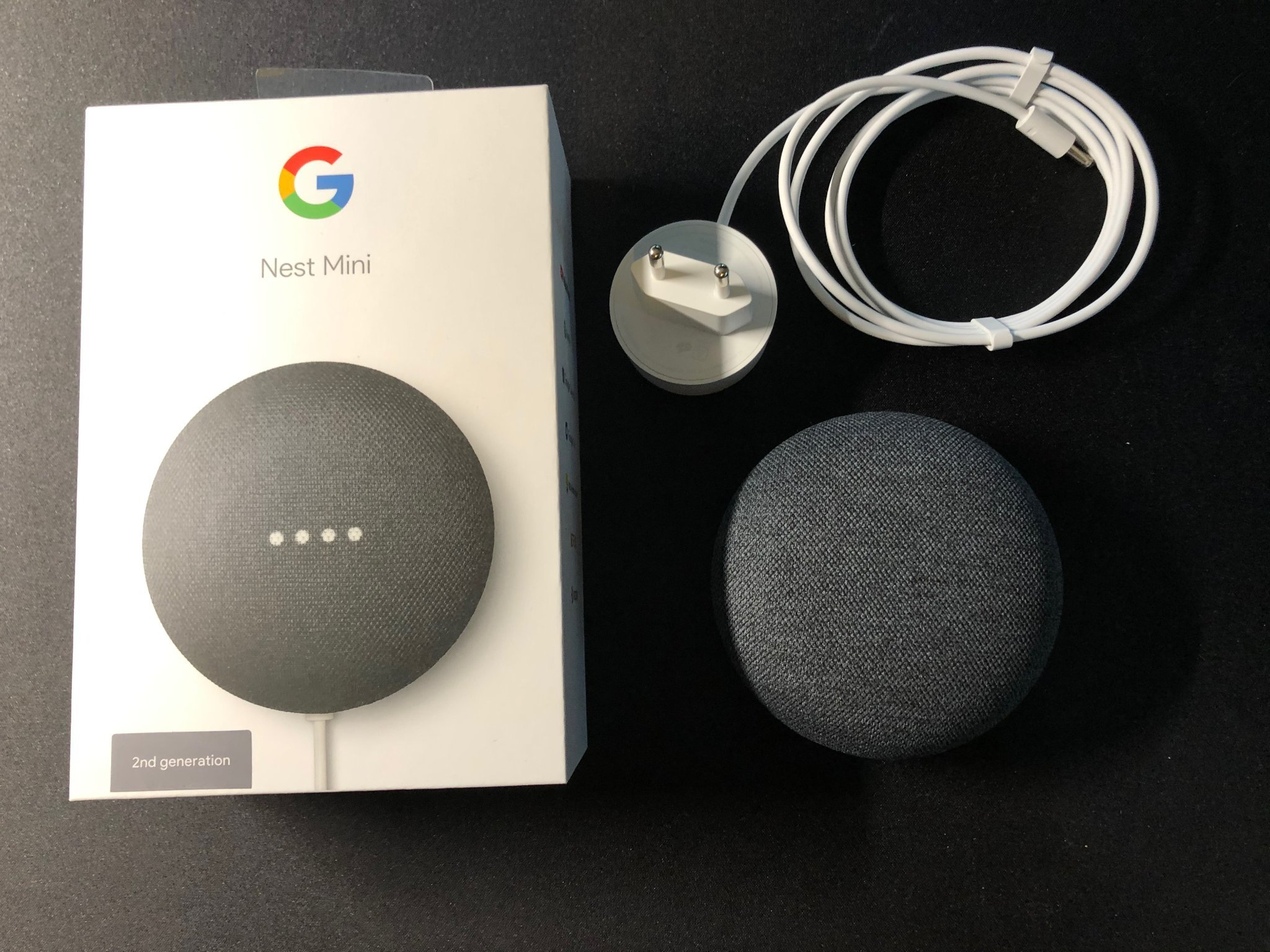 Google Nest Mini Svart Charcoal