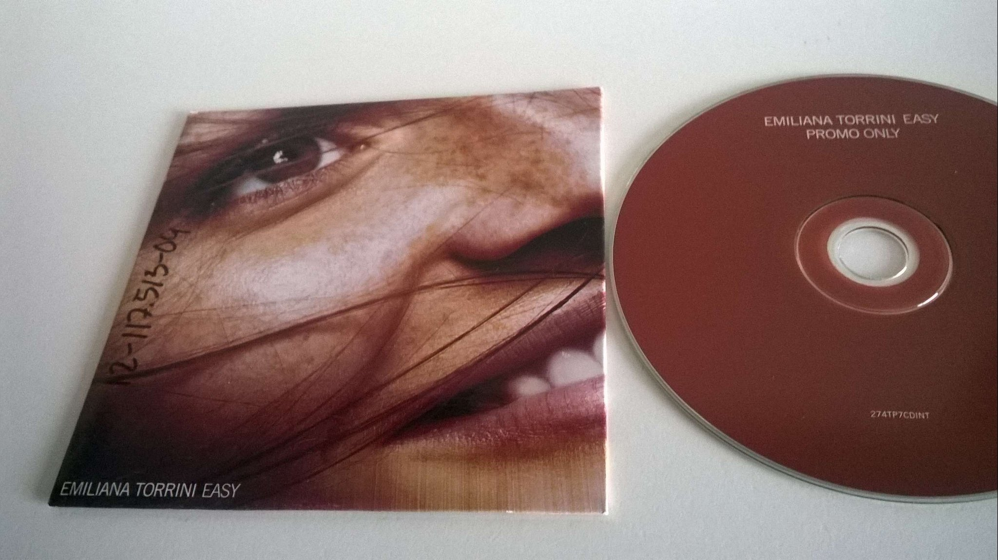 Emiliana Torrini - Easy, single CD, promo