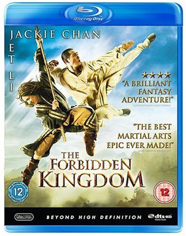 The Forbidden Kingdom (Jackie Chan, Jet Li) - Bluray Blu-Ray
