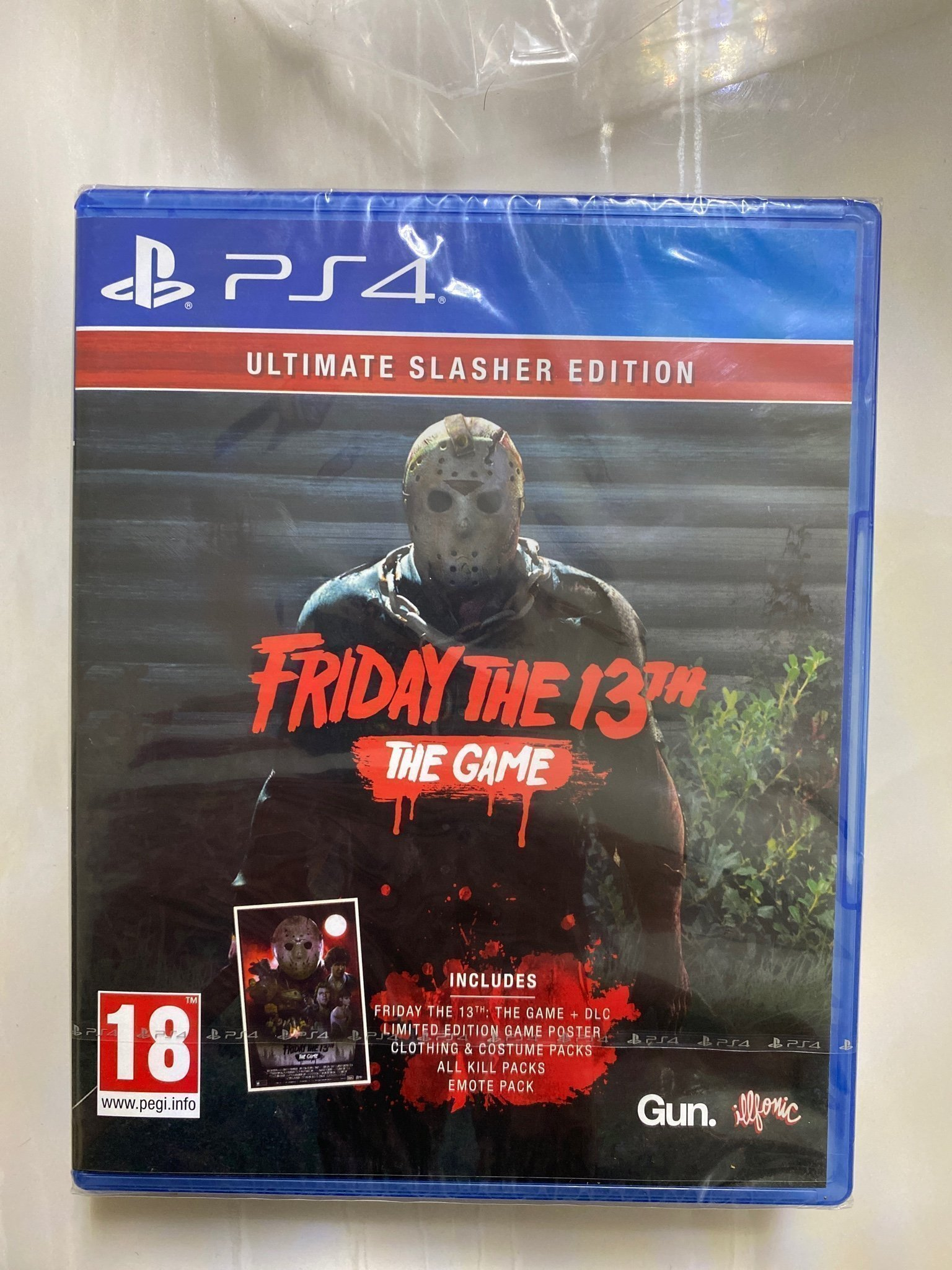 Friday The 13 The Game Limited Edition Nytt