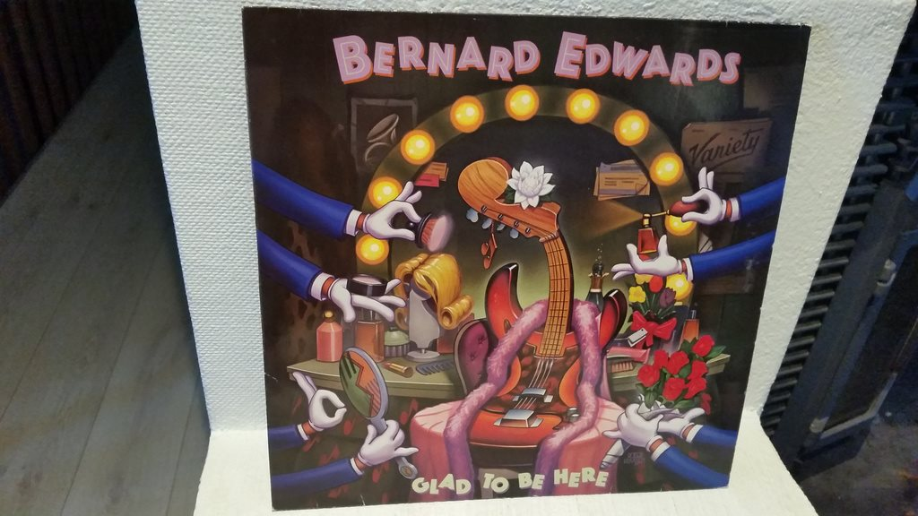 Bernard Edwards - Glad to be here